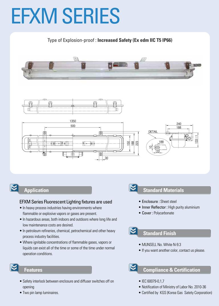 Samik Explosi Onproof Elxctric  EFXM Series