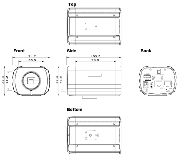 Seyeon Tech Box & Bullet Camera FW1173-FX 1