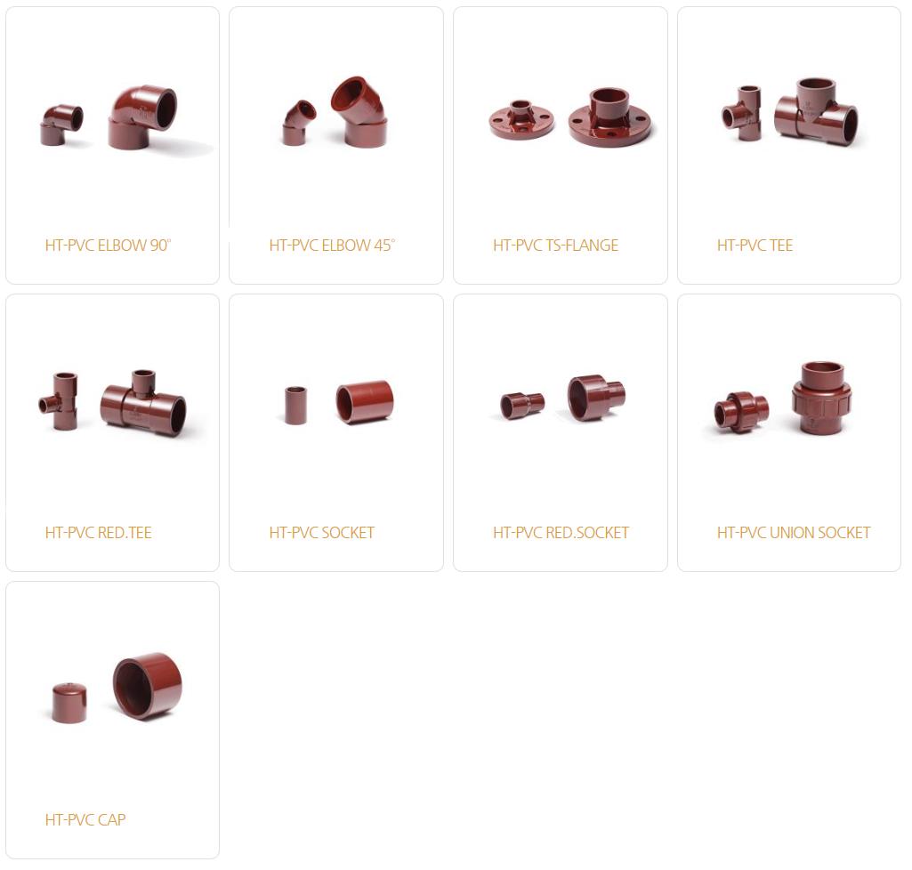 아성플라스틱밸브(주) HT-PVC Fitting  1