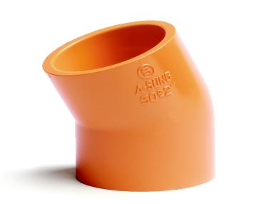 ASUNG PLASTIC VALVE CPVC Fitting Elbow  3