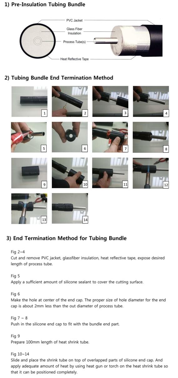 고려측기(주) Pre-insulation Tubing Bundle PI Type 9