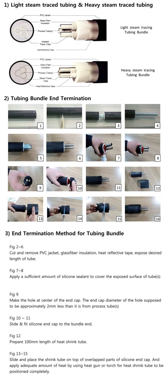 고려측기(주) Light Steam Traced & Heavy Steam Traced Tubing Bundle LT/HT Type 9