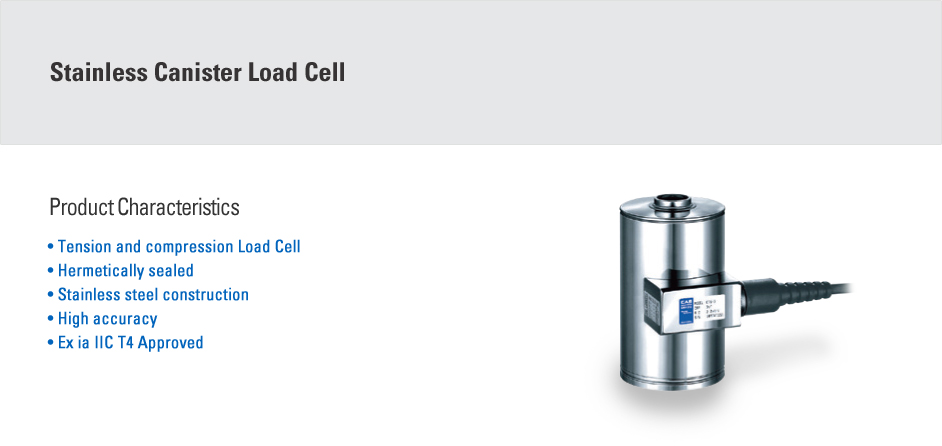 CAS Load Cell - Canister Type  6