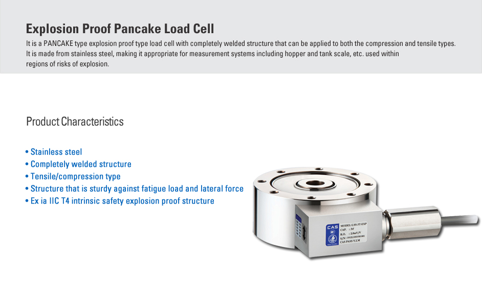 CAS Load Cell - Explosion Proof Type  24