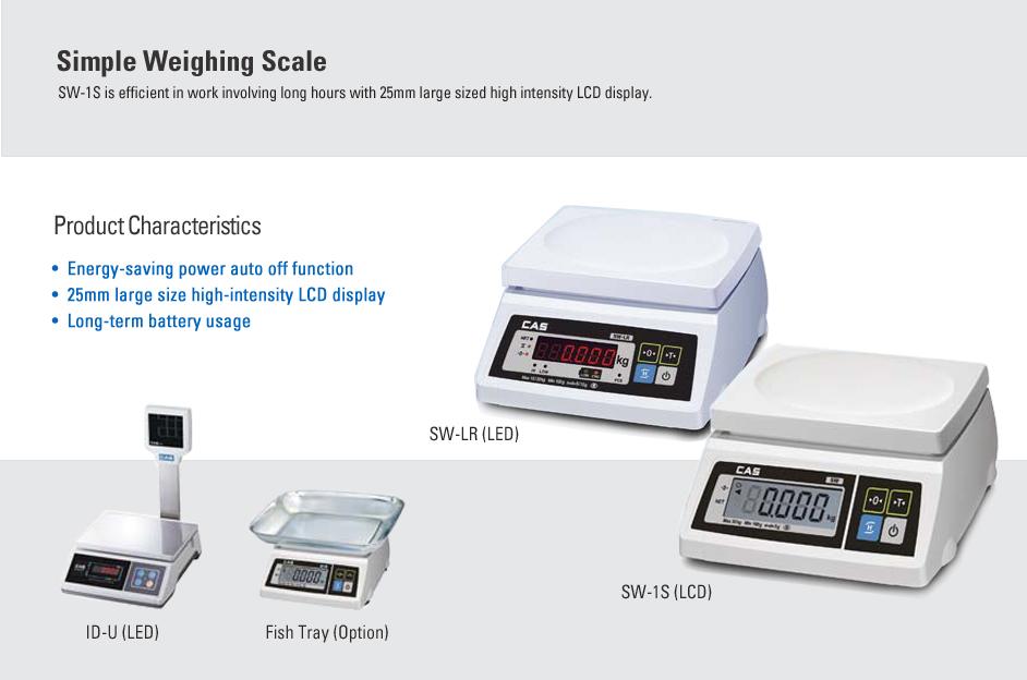 CAS Basic Scale SW-1S/1C/LR, ID-U