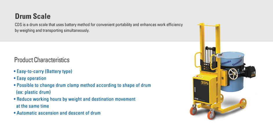 CAS Drum Scale CDS-300