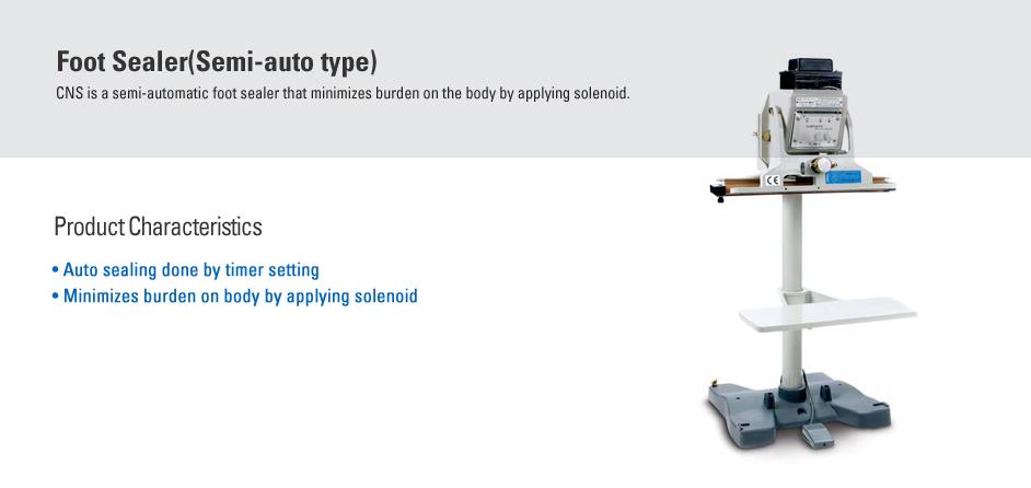 CAS Foot Sealer (Semi-auto Type) CNS
