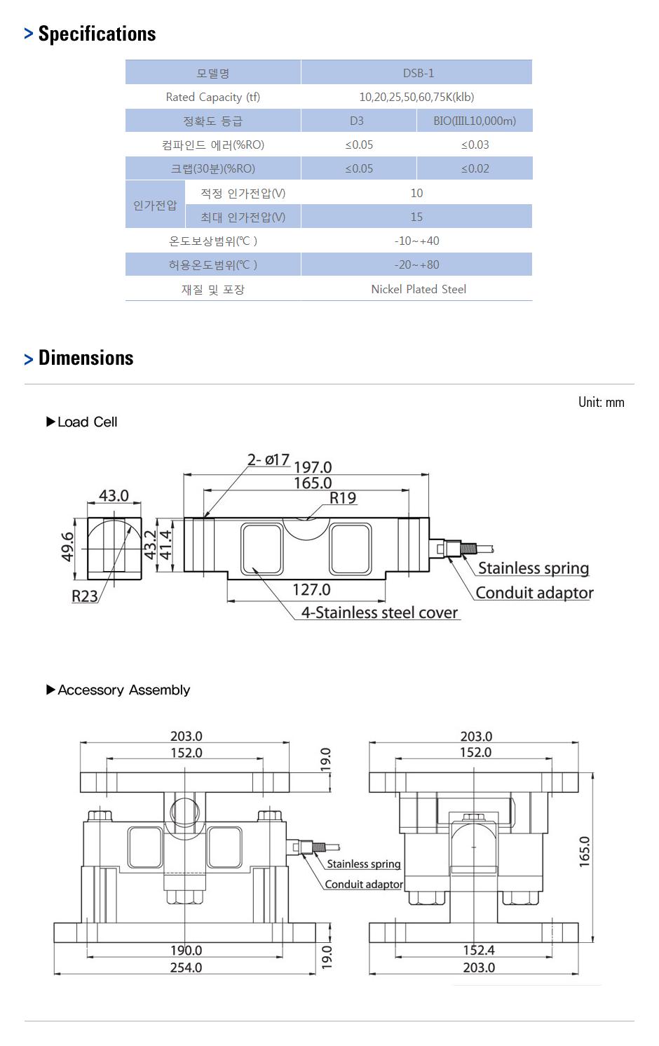 카스 로드셀 - Truck & Tank weighing 타입  19