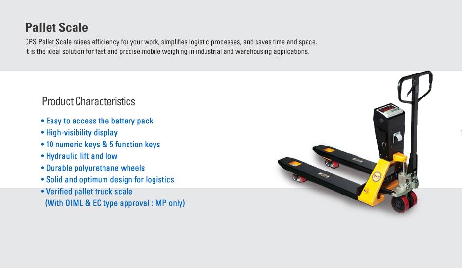 CAS Pallet Scale CPS PLUS, MP Series