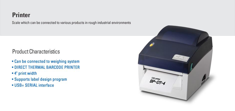 CAS Label Printer BP-DT-4