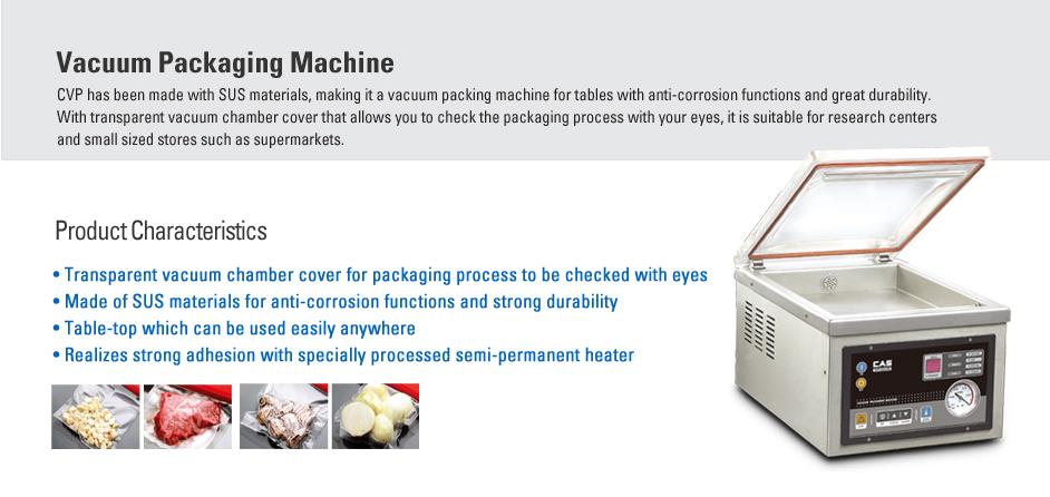 CAS Vacuum Packaging Machine CVP Series
