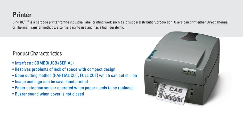 CAS Label Printer BP-1100 PLUS