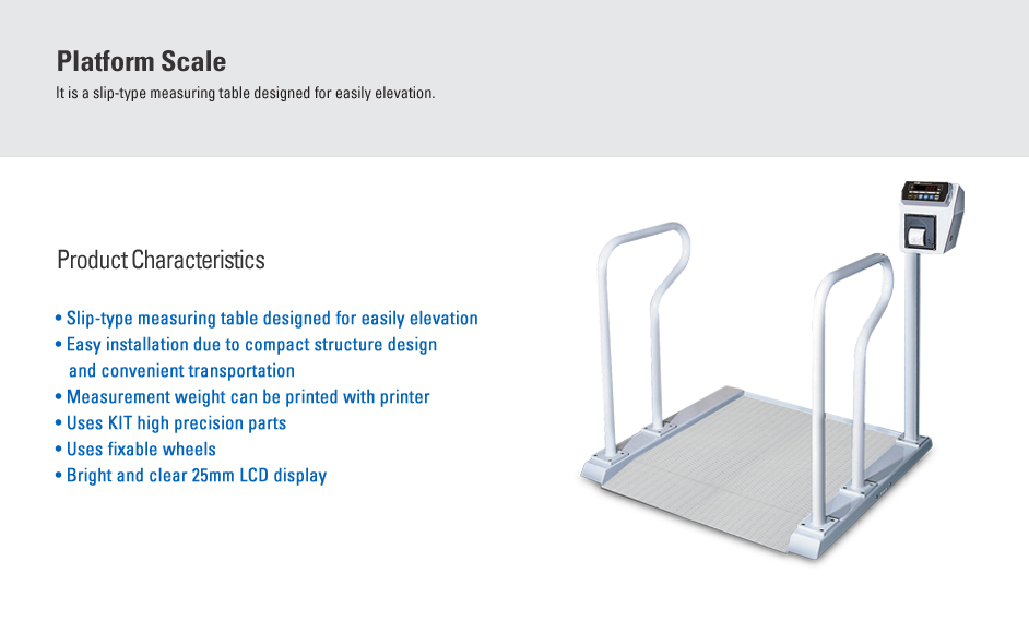 CAS Platform Scale (Wheelchair Scale) WCS-200
