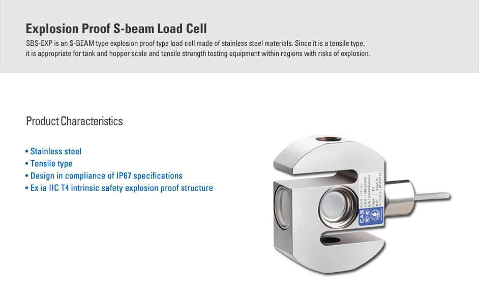 CAS Load Cell - Explosion Proof Type  15