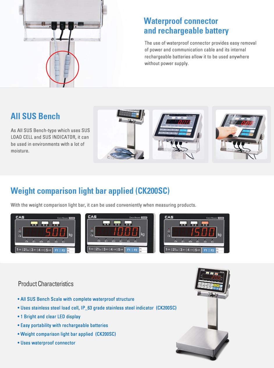 CAS Bench Scale CK Series 1