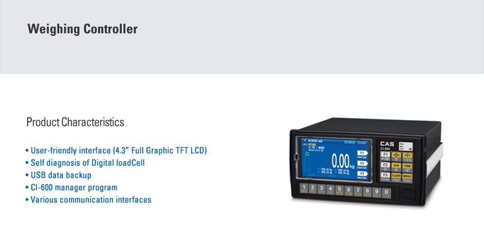 CAS Weighing Controller CI-600D