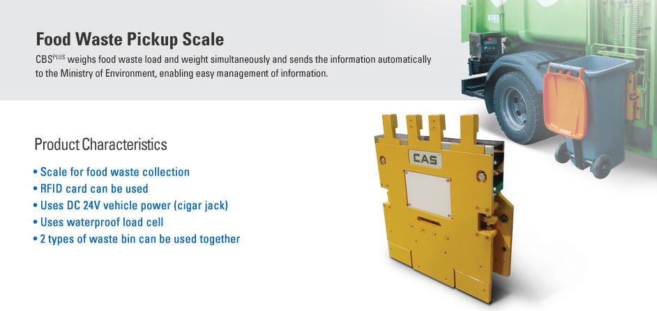 CAS Drum Scale CBS PLUS
