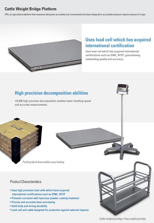 CAS Platform Scale (Cattle Weight Bridge Platform) HFS Series