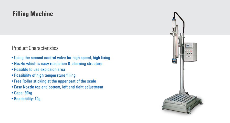CAS Liquid Filling Machine CFM-030KMS-ST
