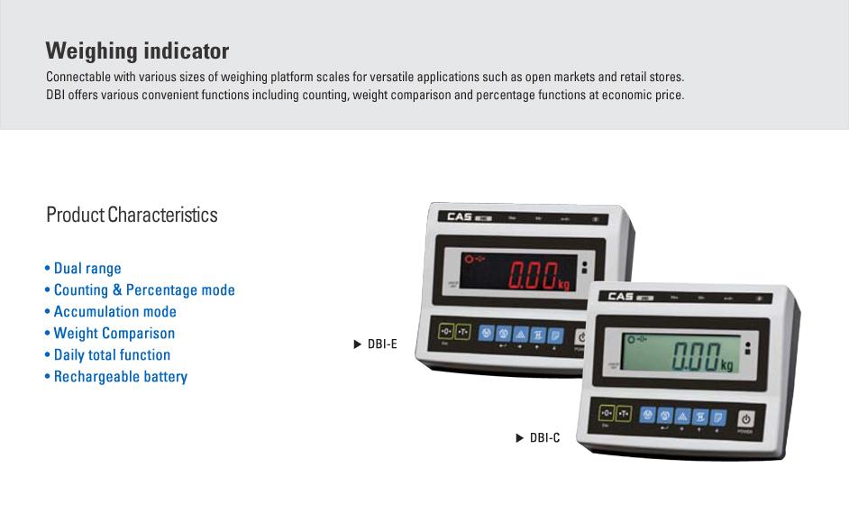 CAS Weighing Indicator DBI