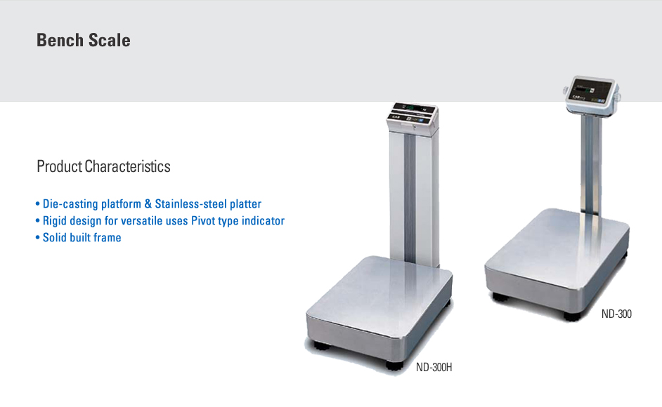 CAS Bench Scale ND-300/300H