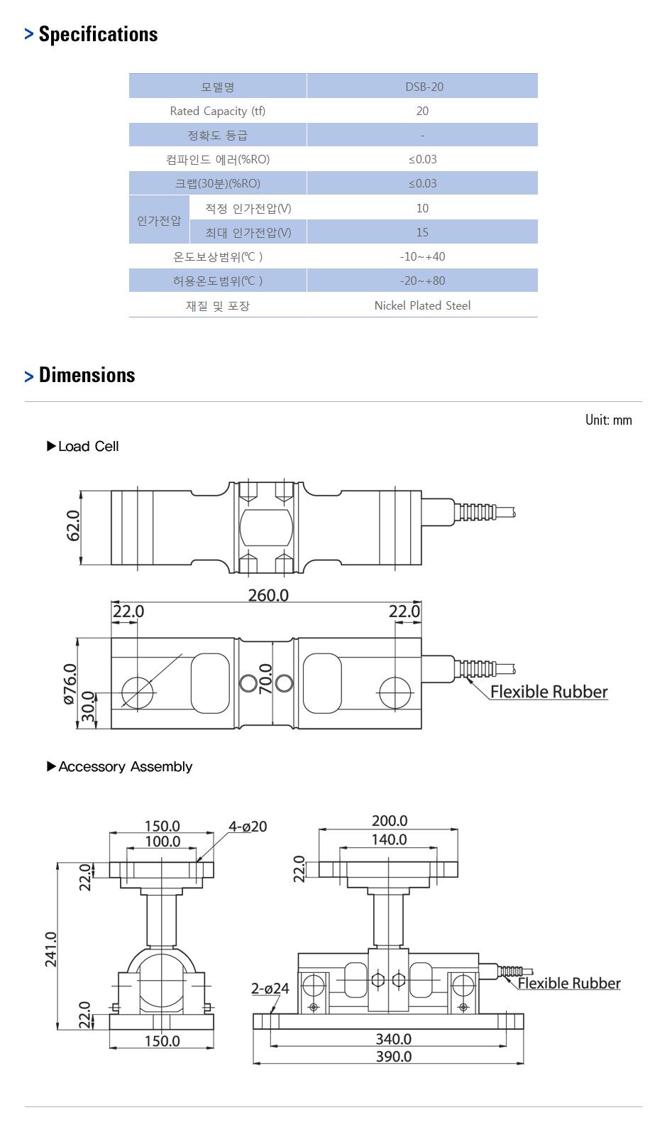 카스 로드셀 - Truck & Tank weighing 타입  16