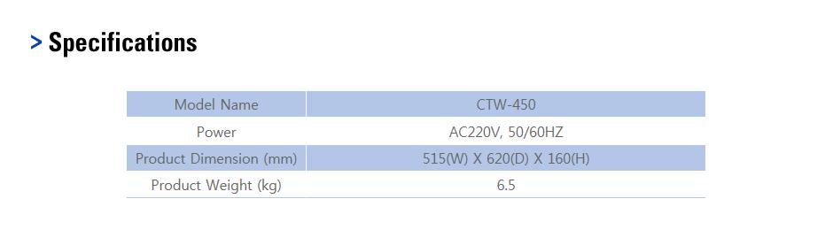 CAS Hand Wrapper CTW-450 1