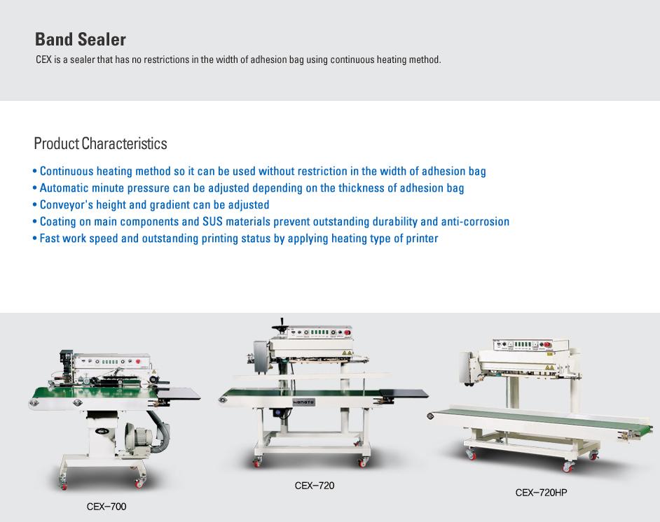 CAS Band Sealer CEX Series