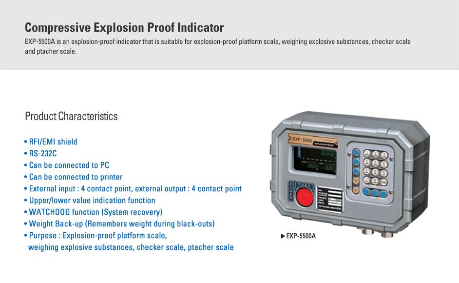 CAS Compressive Explosion Proof Indicator EXP-5500