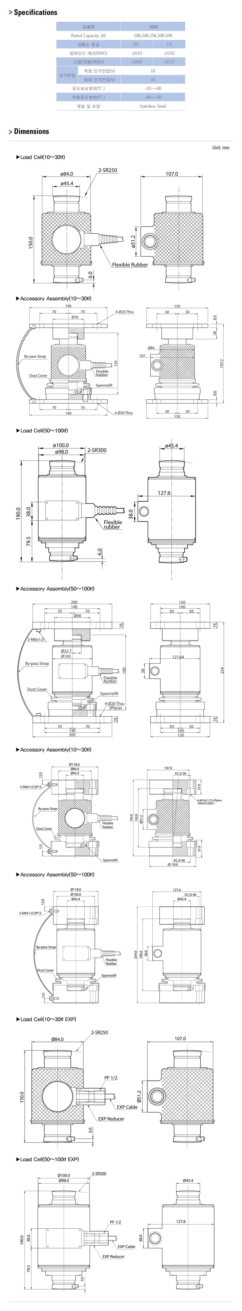 카스 로드셀 - Truck & Tank weighing 타입  7