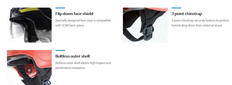 SanCheong Fire-Fighting Helmet SCA1205R