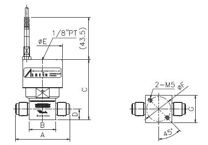 ASFLOW Switch Type Pneumatic Diaphragm Valve  1