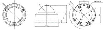 Seyeon Tech Dome Camera FW7502-TVF 1