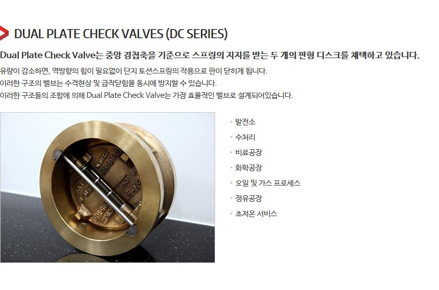 DKC Dual Plate Check Valves  3