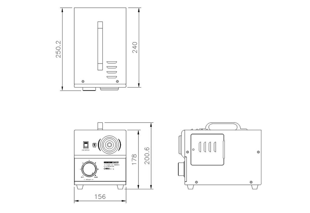 (주)참메드 Halogen Light Source CHAM CV-150 3