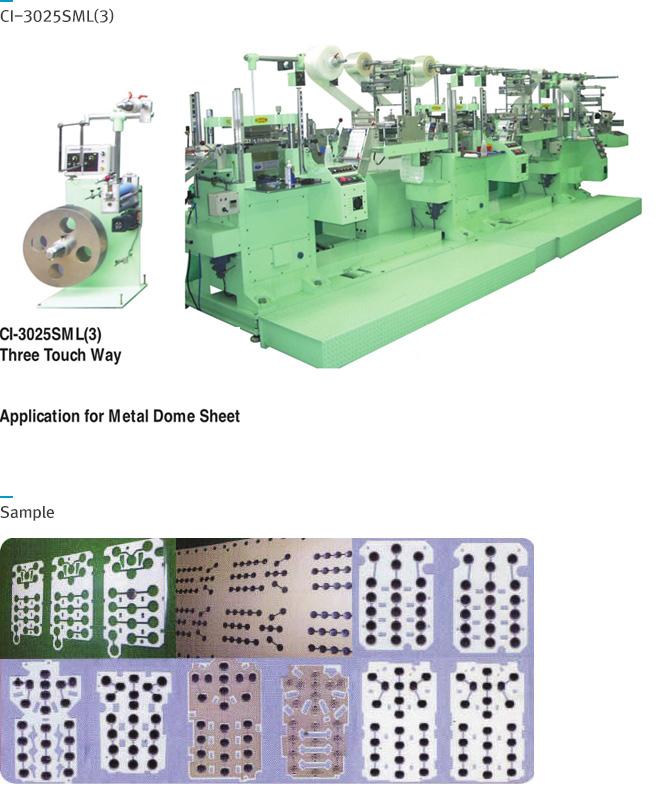 CHANG EEK MACHINERY CI-3025SML CI-3025SML3
