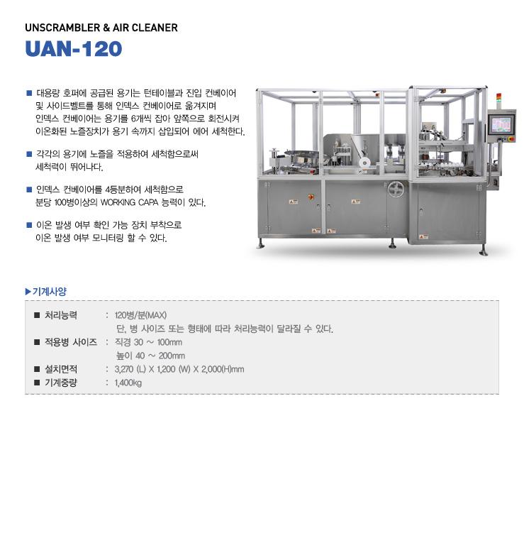 (주)카운텍 Unscrambler & Air Cleaner UAN-120 1