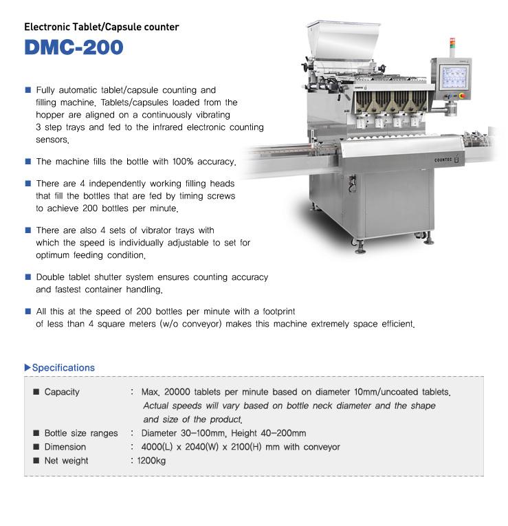 COUNTEC Eletronic Tablet / Capsule counter DMC-200