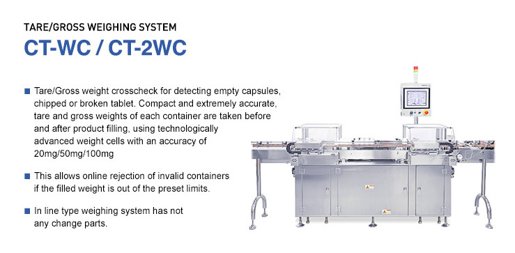 COUNTEC Tare / Gross Weighing System CT-WC, CT-2WC