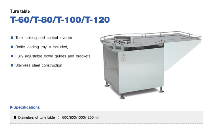 COUNTEC Turn Table T-Series