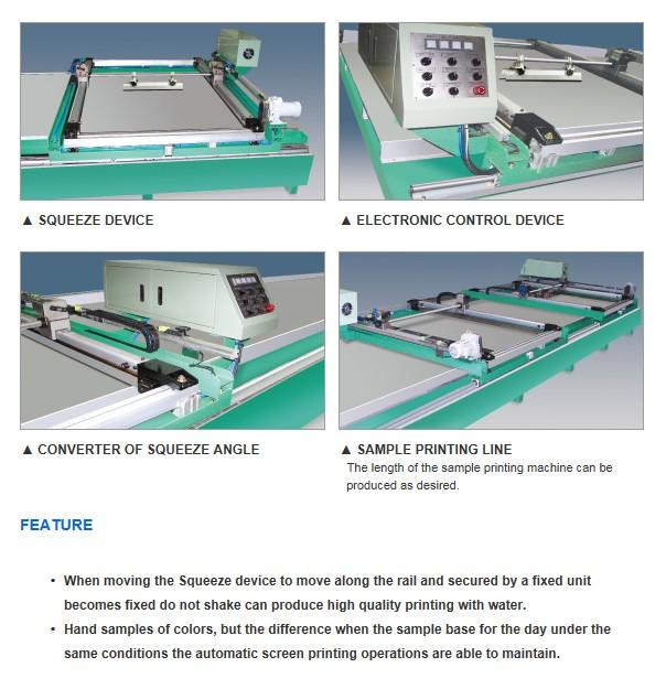 CHANGWON TECH Sample Printing M/C