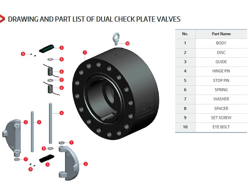 DKC Dual Plate Check Valves  4