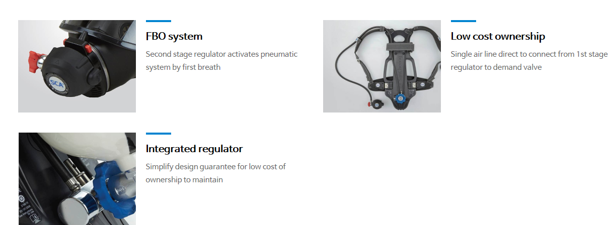 SanCheong Self-contained Breathing Apparatus SCA680E