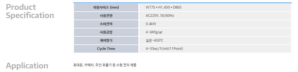 (주)대호테크 Hot & Cold Sticking M/C DTK-HRS-HCS004-11A 1