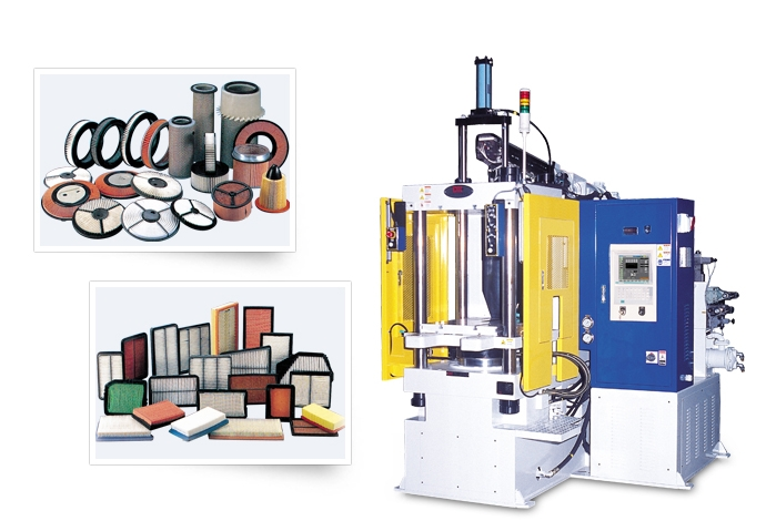 DAEKYUNG HYDRAULIC Machine for Air Filter DKV-EHC / ESHC2 1