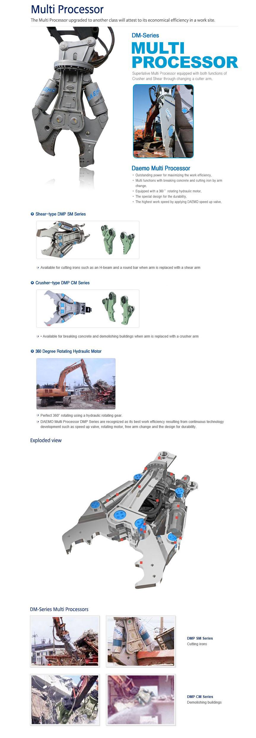 DAEMO ENGINEERING Multi Processor DM-Series