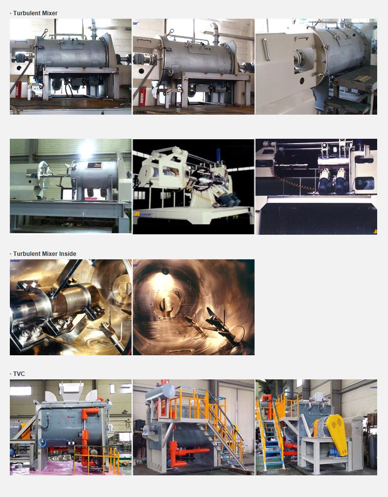 DAESUNG CHEMICAL MACHINERY Turbulent Mixer  2