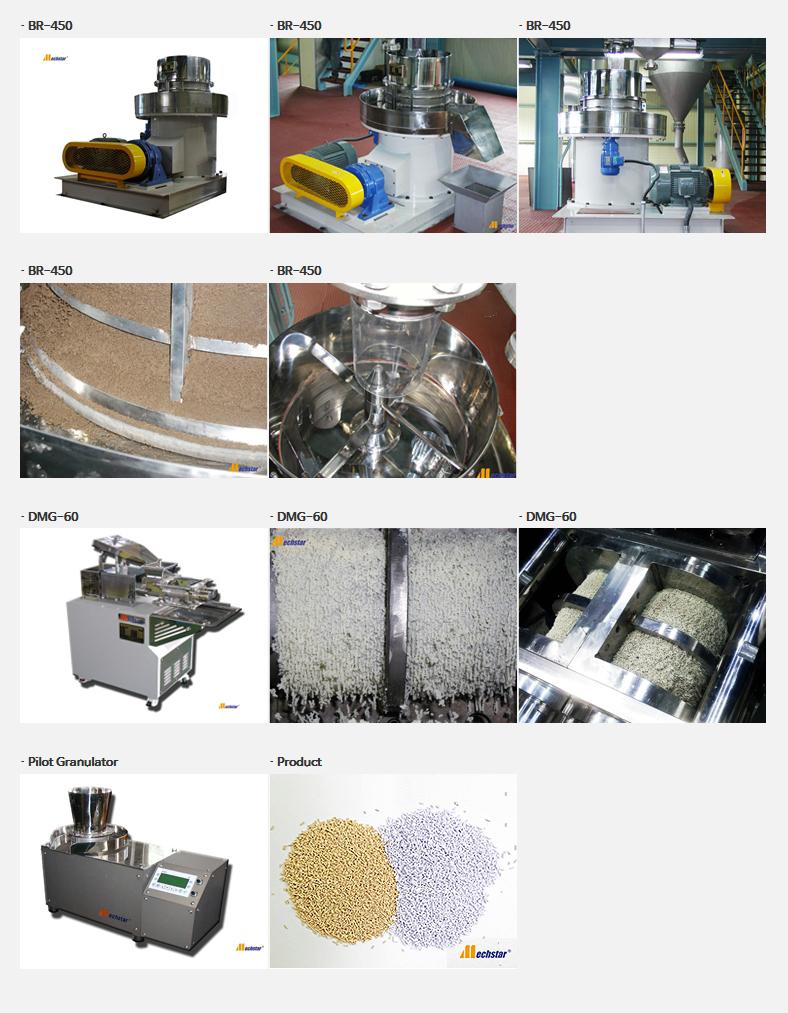 대성화학기계 그래뉼레이터 DMG/BR Series 7