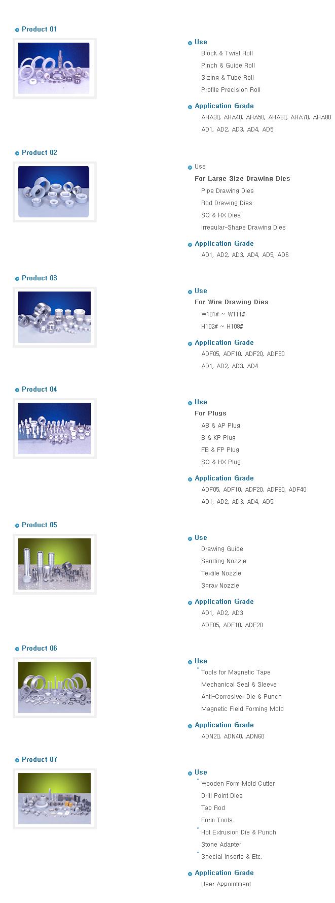 Daewha Alloytech Product