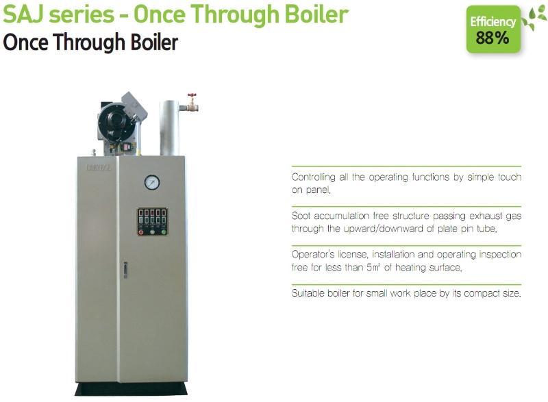 DAEYEOL BOILER Once Through Boiler SAJ-Series